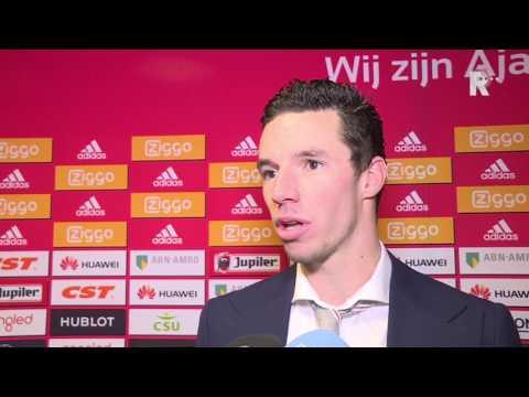 Nick Viergever na afloop van Ajax - Sparta