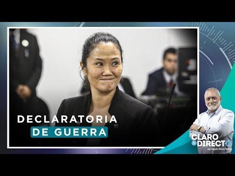 Declaratoria de guerra  Claro y Directo con Augusto Álvarez Rodrich