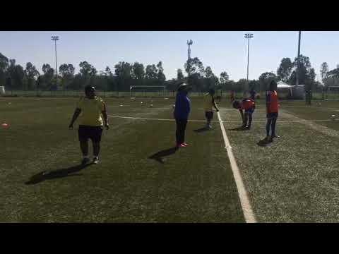 Entraînement des Panthères U20 Féminines sous la supervision du coach Jeanne MOUSSAVOU