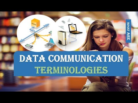 DATA COMMUNICATION TERMINOLOGIES