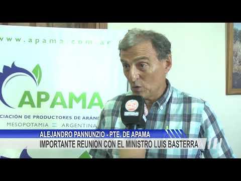 Costo de la energía, créditos para inversión productiva y condiciones laborales, los temas que productores de arándanos le plantearon al Ministro Basterra