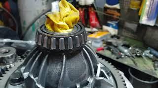 Митсубиси кольт, ремонт КПП 6ти ступенчатый робот
