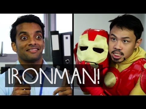IRONMAN vs SINGAPORE! (Bureau-Crazy Webseries EP6)