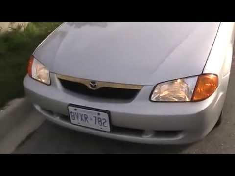2000 Mazda Protege SE Startup Engine & In Depth Tour