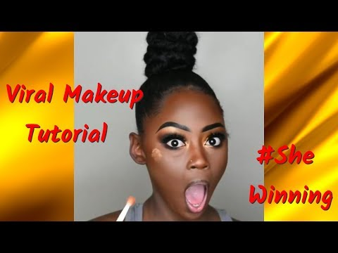 Traptorial | Viral Black Makeup Tutorial on Instagram #SheWinning