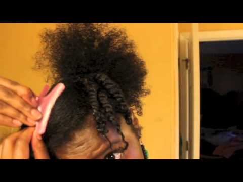 10 Easy Protective Style On Natural Hair Youtube