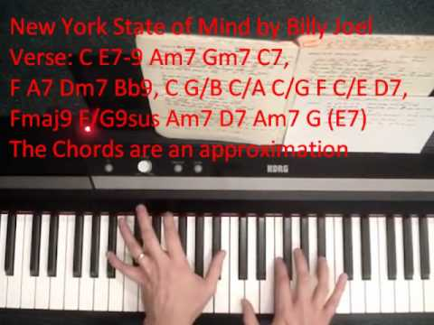 How To Play New York State Of Mind By Billy Joel Youtube