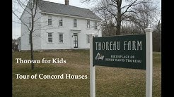 Thoreau for Kids: Tour of Concord Houses