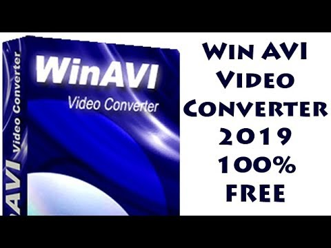 WinAVI Video Converter 2019 FREE