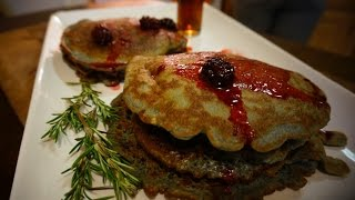 How To Make Paleo Blackberry Pancakes #killercartercooking