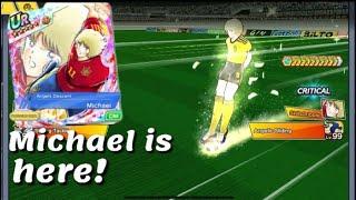 Captain Tsubasa Dream Team! PvP against Michale Super Dreamfest!