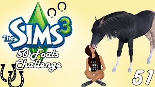 Let's Play: The Sims 3 50 Foals Challenge - Part #51 - Why Can't You Eat?!