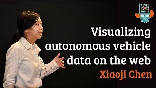 Seeing through the eyes of a self-driving car: visualizing autonomous vehicle data on the web