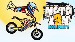 Moto X3m Pool Party  Level 01-22  - Y8 Game | Eftsei Gaming