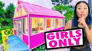 I BUILT THIS IN HIS BACKYARD & HE HAD NO IDEA!!