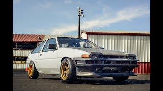 S2000-Powered Toyota Ae86 - One Take