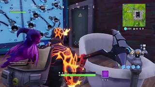 Fortnite Hot Drop: The Block, Trap Camping Clip | LEGIT NO GUN!