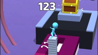 Stacky Dash - Level 13-20 - iOS Gameplay Part 1