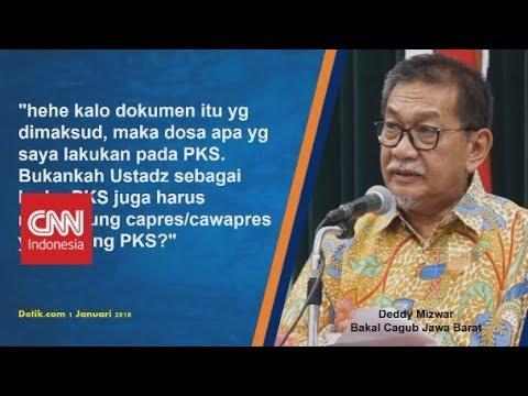 Polemik Pakta Integritas Deddy Mizwar, Twit War Demiz Dengan Hidayat Nur Wahid
