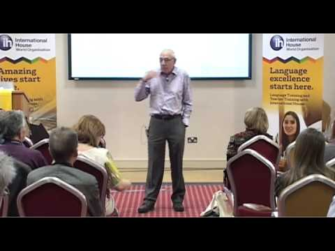 Martin Parrott at the International House Conference 2012