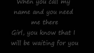 I Will Be Waiting - D Cru with lyrics
