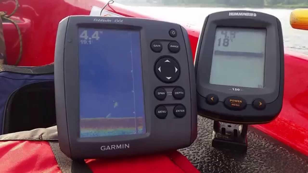 porównanie echosondy garmin fishfinder 350c z humminbird piranha, Fish Finder
