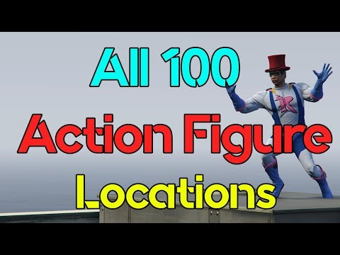 All 100 Action Figure Locations In GTA Online