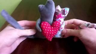 Как сшить игрушку своими руками, МК коты неразлучники