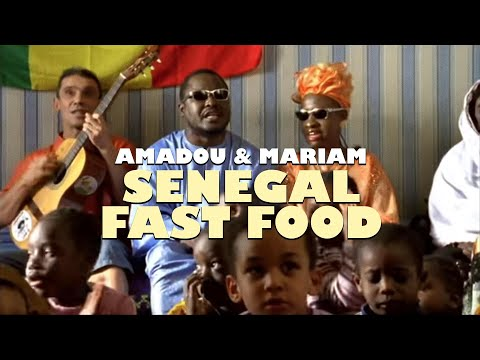Amadou & Mariam feat. Manu Chao - Sénégal Fast Food