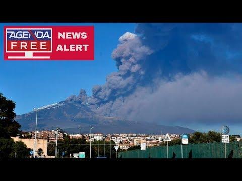 Mount Etna Volcano Erupts in Sicily - LIVE COVERAGE