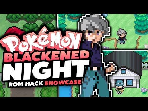 Pokémon Blackened Night - Pokemon Rom Hack Review/Showcase