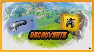 Fortnite Decouverte jet-pack + Famas