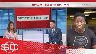 Victor Oladipo on LeBron James and driving the pace car for the Indy 500 | SportsCenter | ESPN