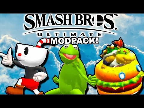 EVERY MEME IS HERE || Smash Bros 4 Ultimate Modpack