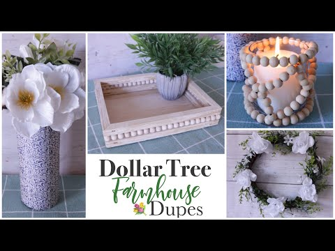 Dollar Tree DIY Farmhouse Dupes
