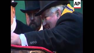 One of the oldest pieces of American folklore draws thousands to Punxsutawney, Pa. to praise the gro