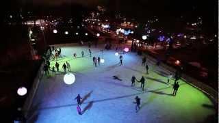 Каток в Парке Горького / Gorky Park ice rink