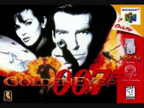 Goldeneye N64 settle the score with 006 theme extended