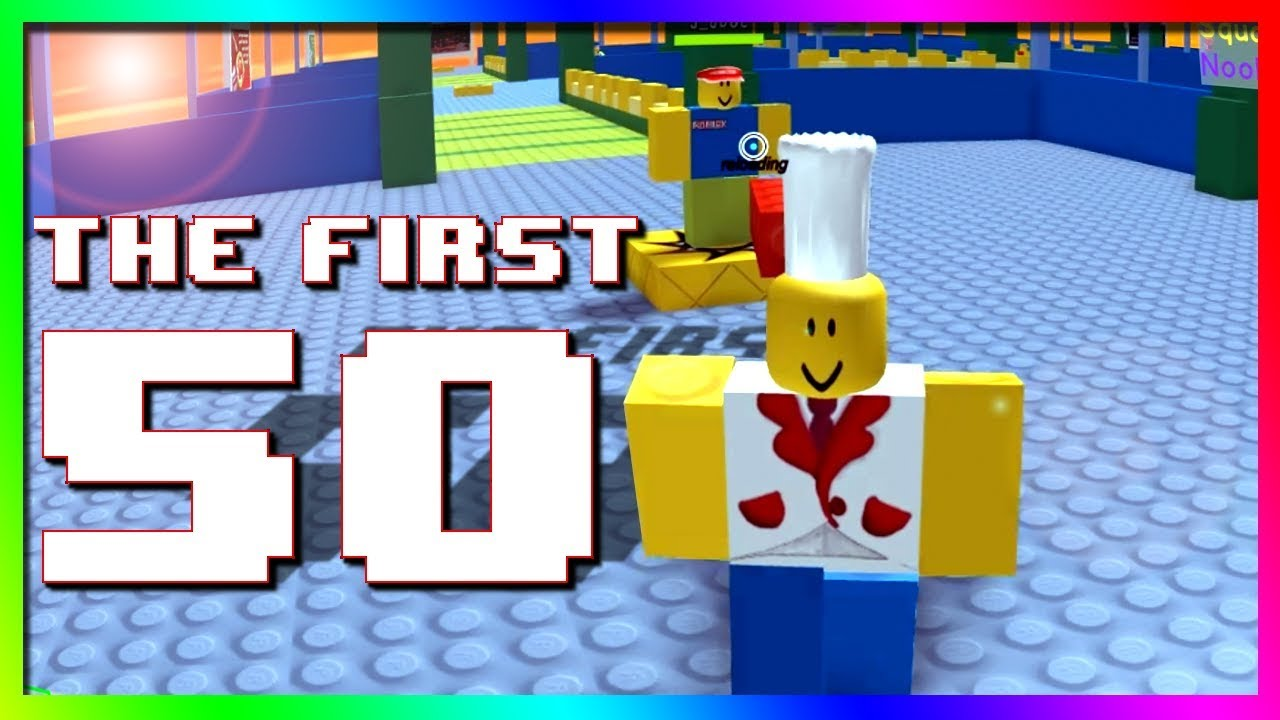 the first 50 roblox accounts