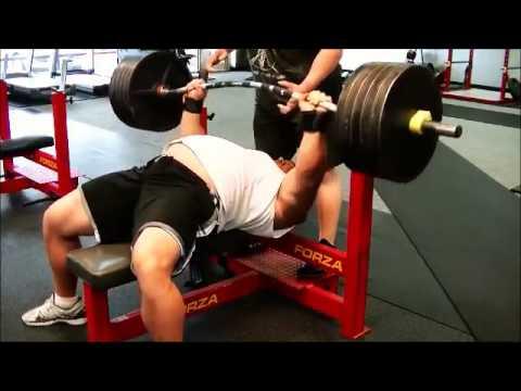 Ryan Kennelly Bench Press RAW 495 Lbs X 5 / 225 Kg  Dec 14, 2015
