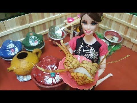 Barbie Membuat Ketupat Lebaran Cerita Barbie Bahasa Indonesia Terbaru Youtube