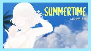 【ดารินจะร้อง】麦吉_Maggie x 盖盖Nyan - Summertime (Arrange ver.) COVER【Vtuber】