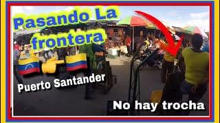 Como esta hoy La frontera Venezuela-Cucuta Colombia 2019 ?