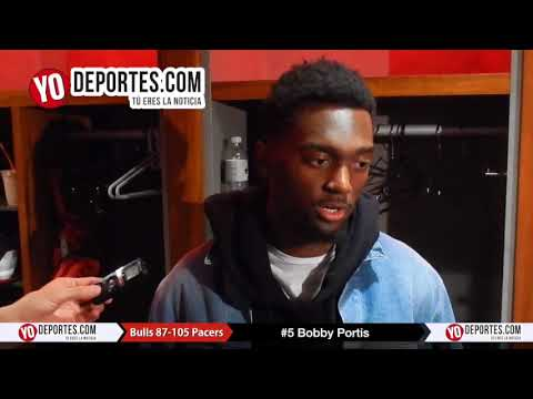 Bobby Portis Chicago Bulls 87-105 Indiana Pacers