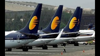 Jet Airways Employees Address the Media After Airline Suspends All Operations
