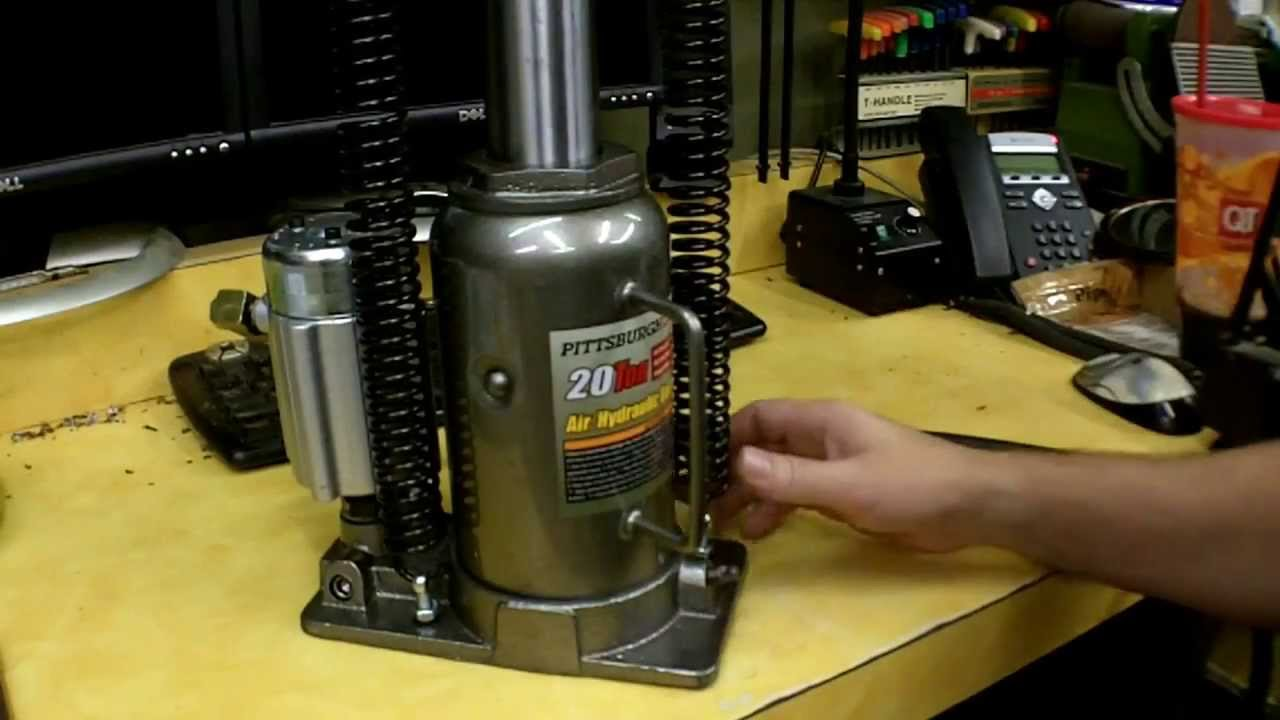 Harbor Freight AirOver Hydraulic Bottle Jack Review Item