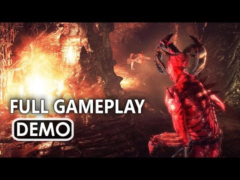 AGONY Gameplay FULL Demo Walkthrough