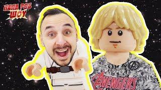 Папа Роб собирает набор #LEGO STAR WARS!