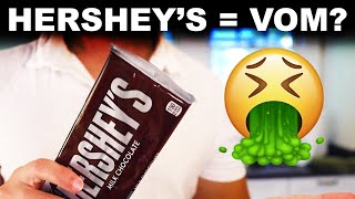 Why Hershey bars taste like vomit (and I love them)