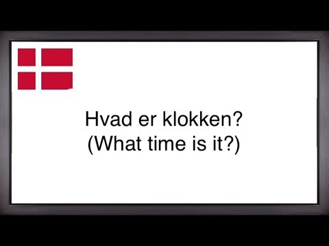 150 Basic Danish Phrases! (Greetings, self-introduction, work, asking for directions, etc.)